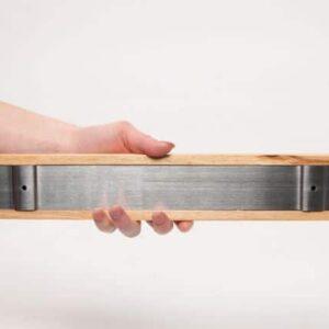 magnetische messenhouder hout