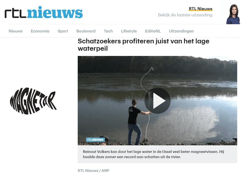 Magneetvissen RTL Nieuws
