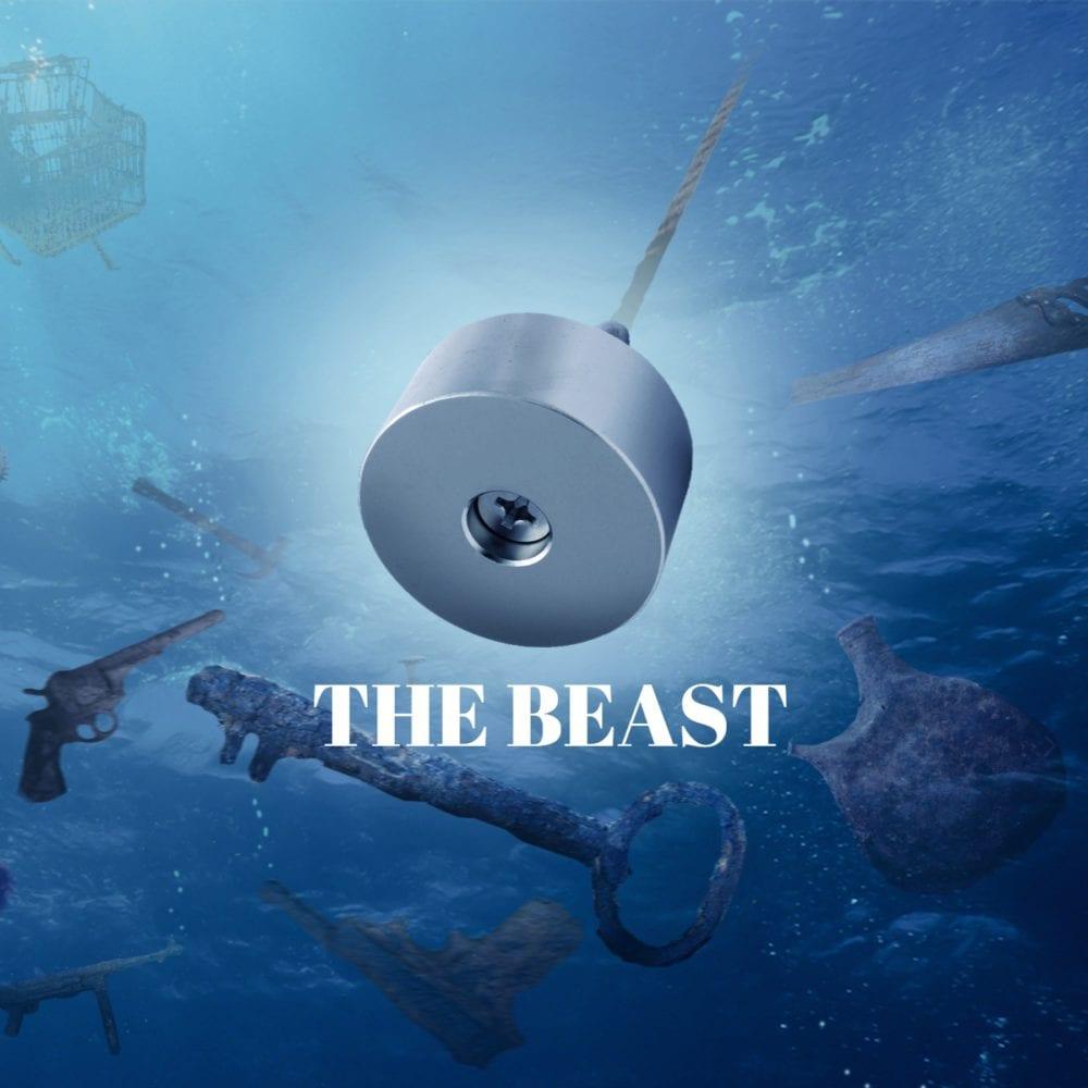 The Beast vismagneet