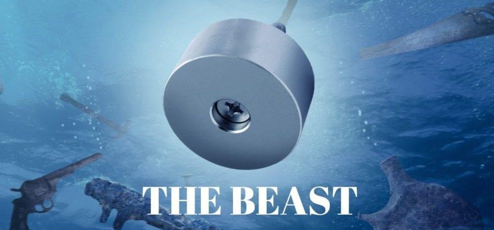 The Beast vismagneet, magneten, vismagneet, magnetfishing, allround, exclusive, magnetangeln, magnets, fishing, magnetar, vismagneet, magneet vissen, vissen, sale, korting, spotlight, actie
