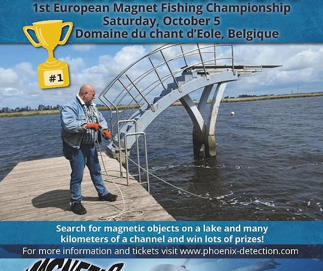Kampioenschappen magneetvissen @ MAGNETLAND 2019