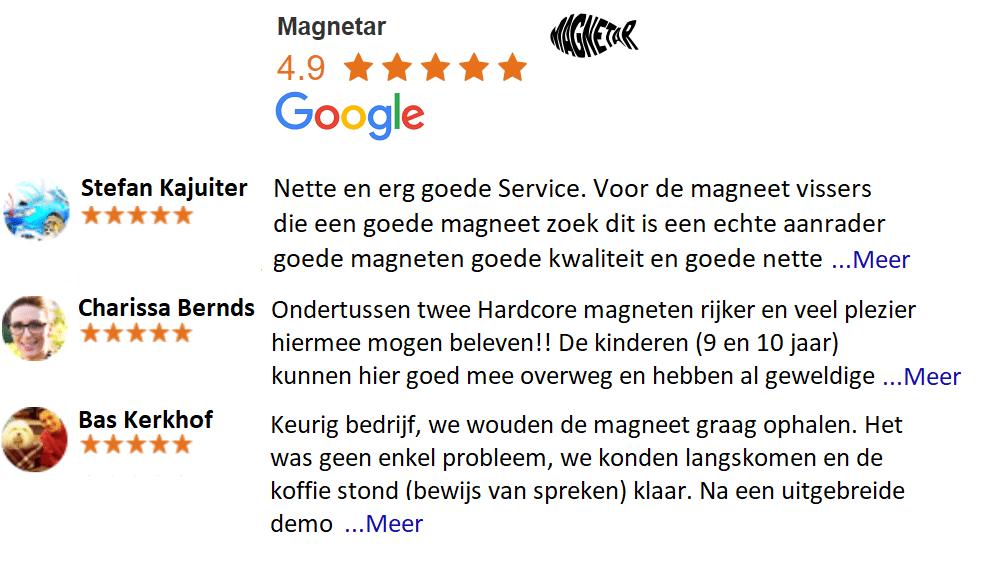 magnetar vismagneet google review voor magneetvissen magneten