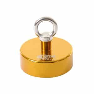 650kg vismagneet goud