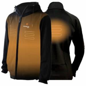 verwarmde hoodie
