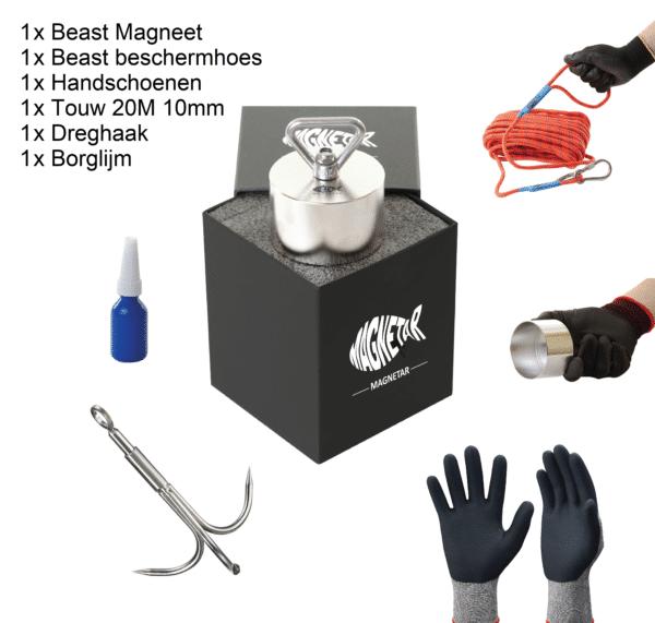 legend vismagneet pakket, pakket compleet vismagneten, legend pakket, beast pakket, magneetvissen pakket, compleet pakket magneetvissen